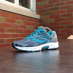 Womens Saucony Cohesion 9 Running Shoes Sz 7.5